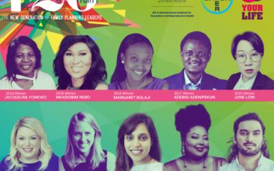 Ten 120 Under 40 Winners to Participate in Gates Institute's World Contraception Day Celebration Webinar Series